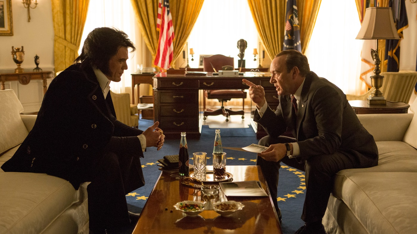 Elvis meets Nixon film still