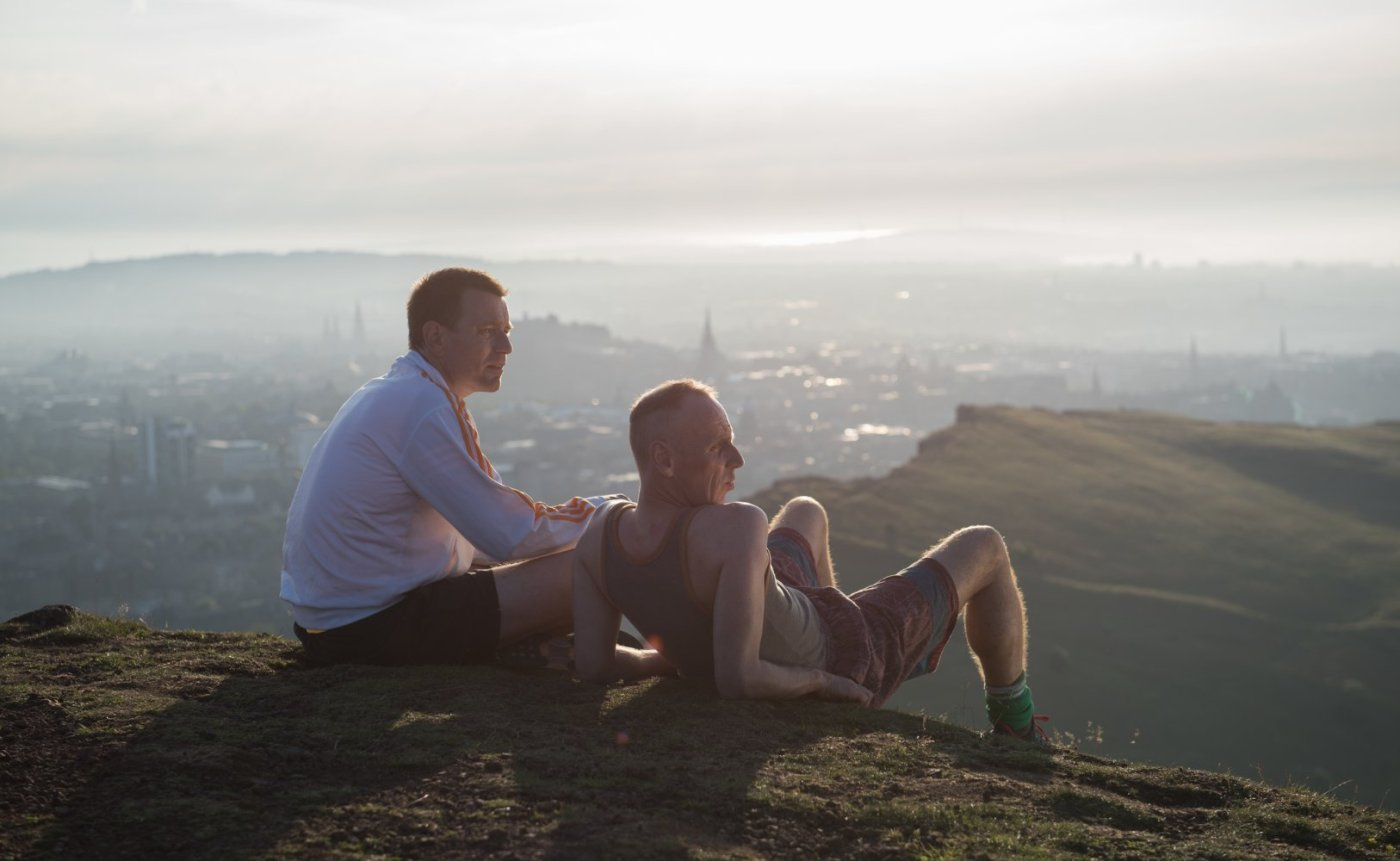 Ewan McGregor and Ewen Bremner in Trainspotting 2 T2