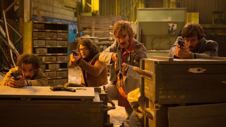 Weapons out in Free Fire film