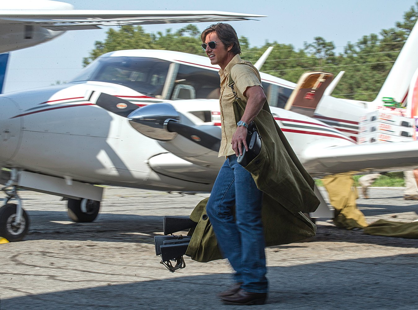 Tom Cruise starring in American Made