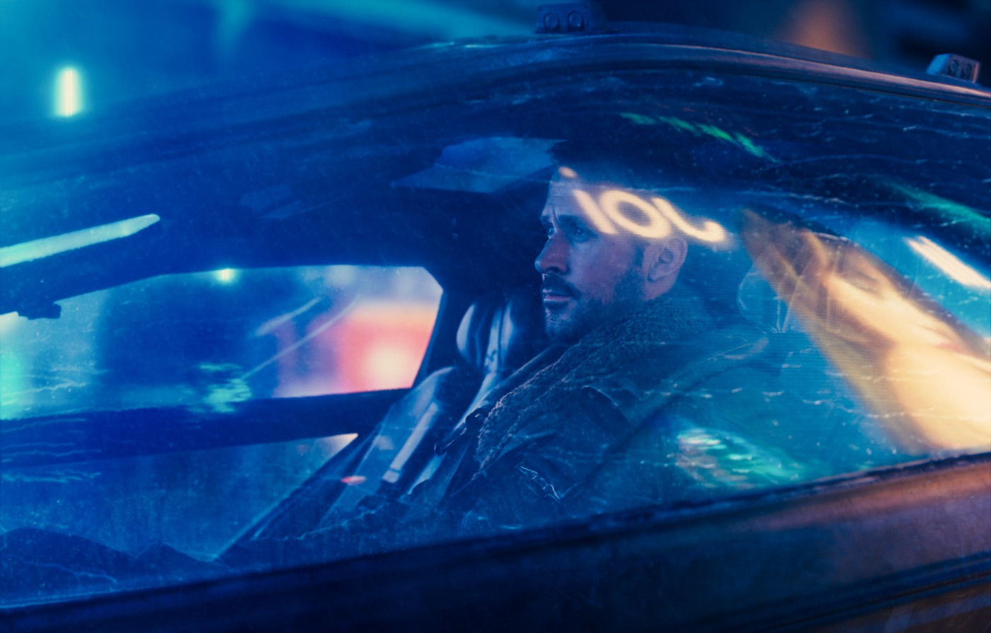 Ryan Gosling in Blade Runner